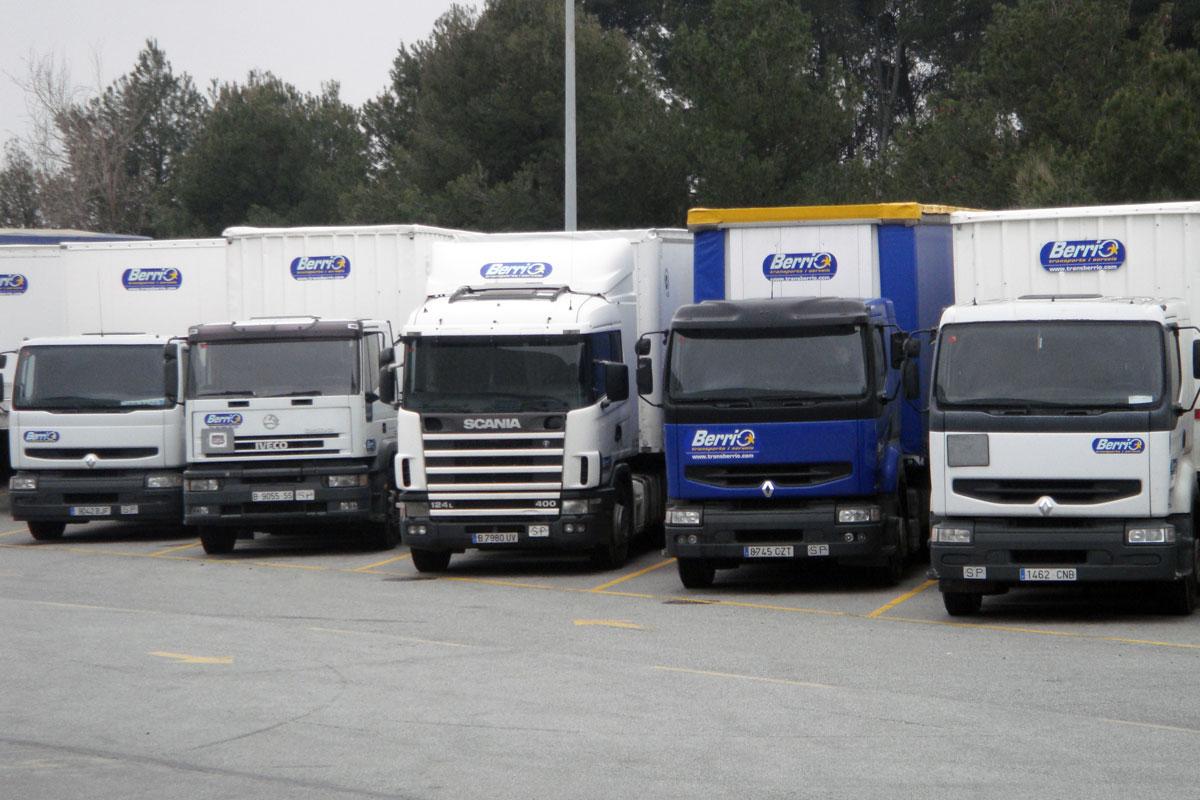 Flota camiones Berrio